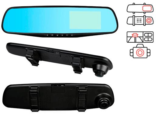 E-ACE CAR DVR недорогой хороший видеорегистратор зеркало