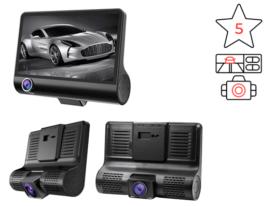 E-ACE - видеорегистратор с 2 камерами и камерой парковки