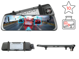 Junsun A930 ADAS 4G - Андроид зеркало-видеорегистратор на ОС Android