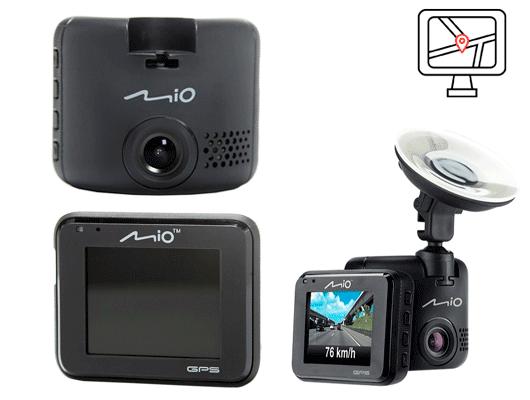 Mio MiVue C330 недорогой регистратор с антирадаром и навигатором