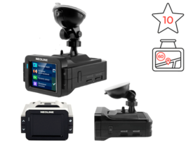 Neoline X-COP 9000 хороший видеорегистратор с антирадаром