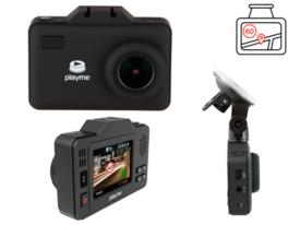 Playme P550 Tetra - универсальный автомобильный видеорегистратор 3в1