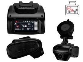 Комбо регистратор 3 в 1 Prestigio RoadScanner 500WGPS