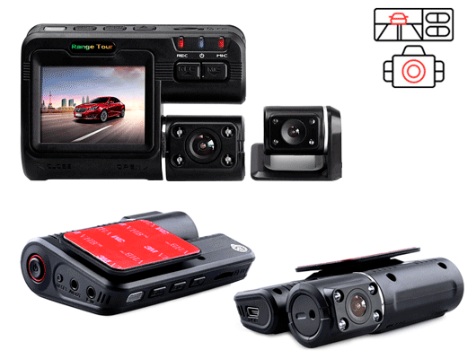 Range Tour - хороший китайский регистратор с 2-мя камерами