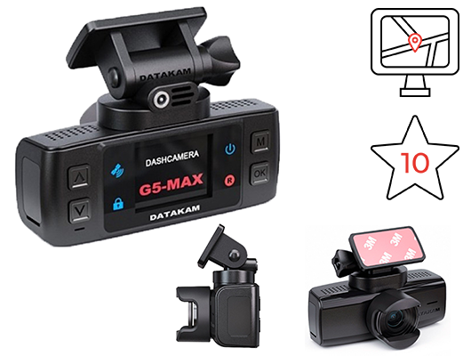 Datakam G5 Real max bf - комбо устройство с радар детектором и навигатором