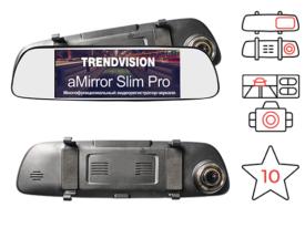 TrendVision aMirror Slim Pro - штатное зеркало заднего вида с видеорегистратором