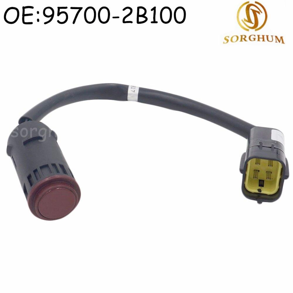 957002B100 95700 2B100 Parking Sensor / Parktronic For Hyundai / Kia|Parking Sensors| - AliExpress