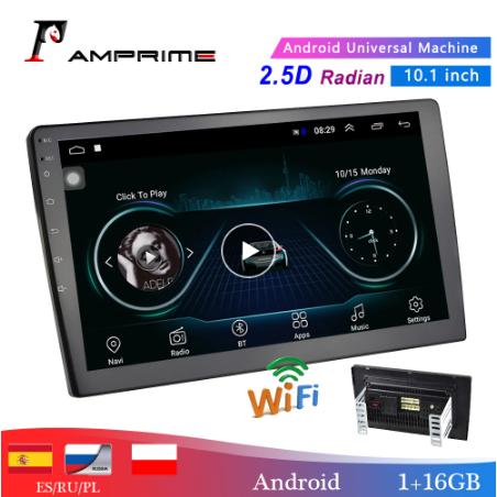 2 дин автомагнитола на Андроиде Amprime