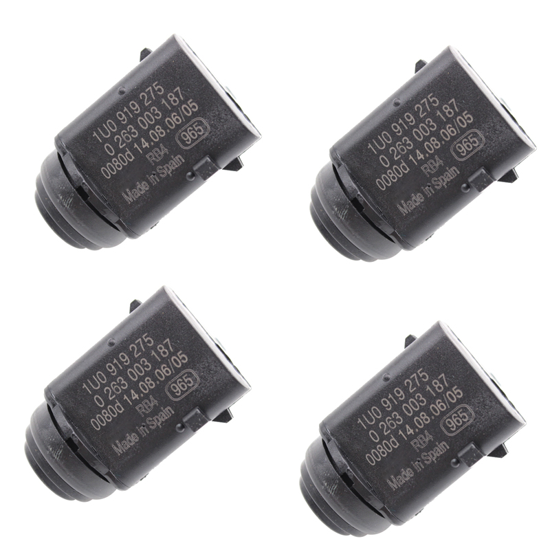 YAOPEI 4pcs SI A0222 Front Rear Parking Sensor Reverse Aid Sensor PDC for Audi Q7 VW Golf Touran Touareg 1U0919275 1J0919275|sensor reverse|parking sensorfront rear parking sensor - AliExpress