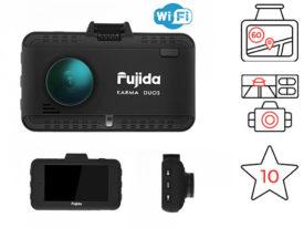 Fujida Karma Duos WiFi - видеорегистратор с GPS радар-детектором