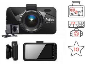 Fujida Zoom City - видеорегистратор Full HD с дополнительной камерой